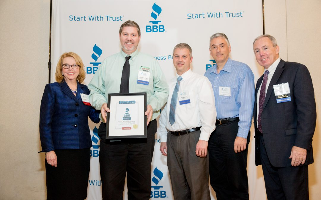 We are a proud BBB Accredited Business